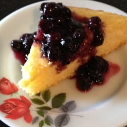 Photo of Sally Webster Inn - Rockport, MA, United States. Lemon Cake with