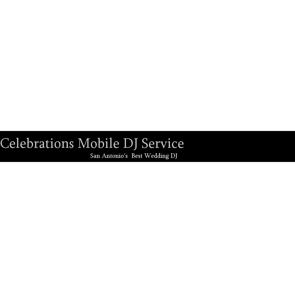 Celebrations Mobile DJ Service