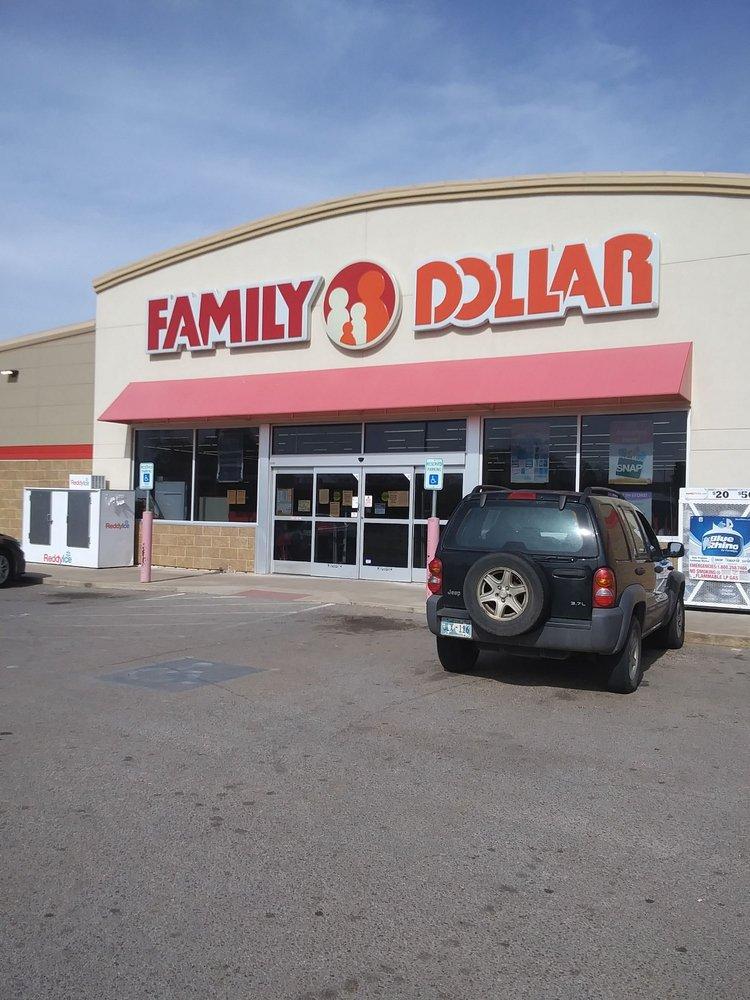 Family Dollar: 132 N Broadway, Geary, OK