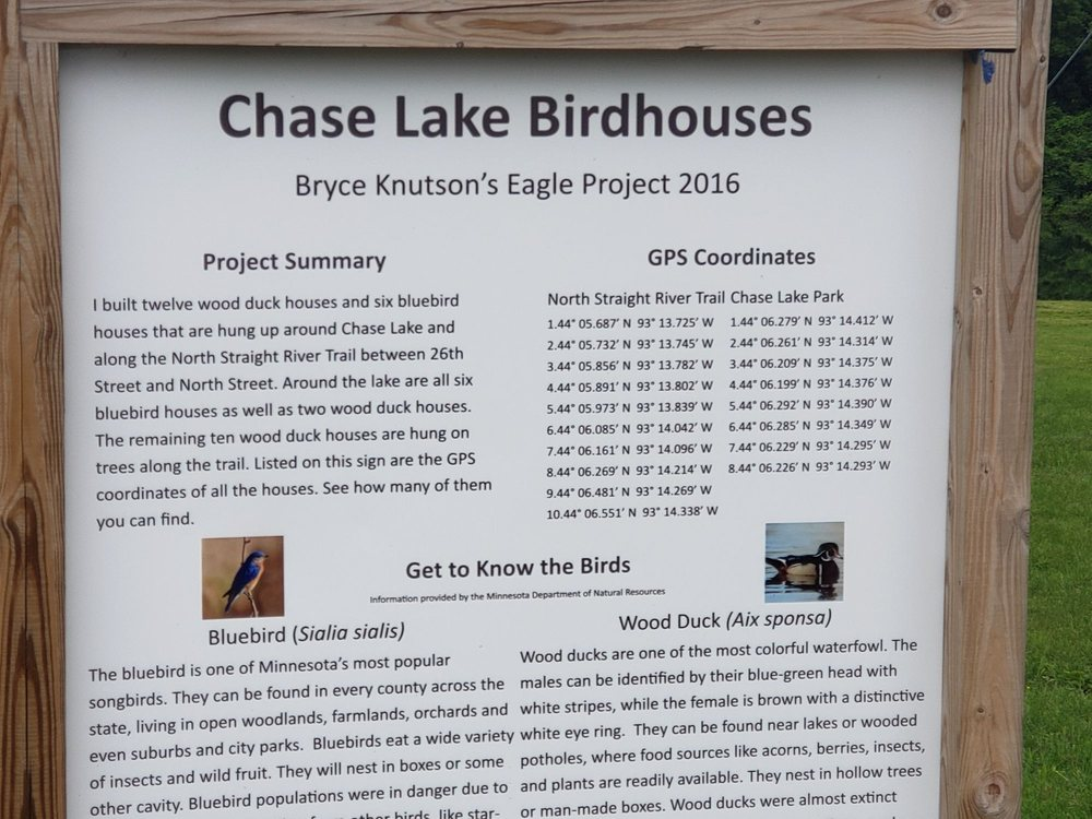 Lake Chase Park: 1915 State Ave, Owatonna, MN