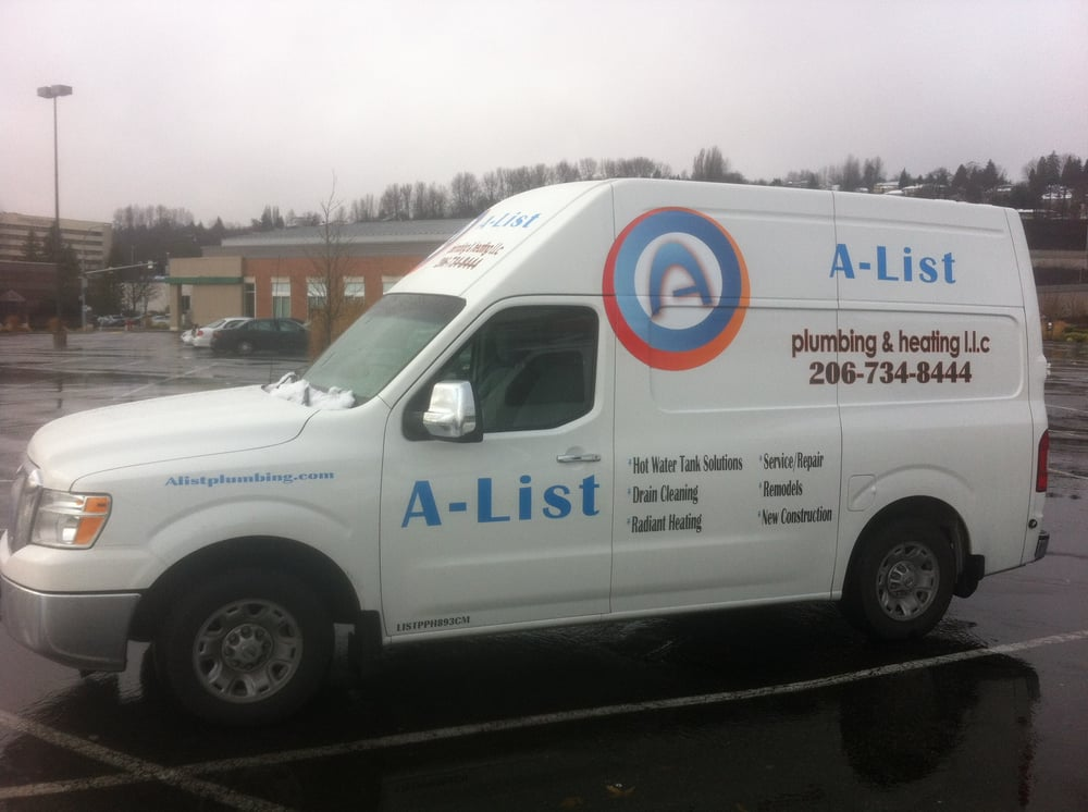 A-List Plumbing & Heating: 21133 22nd Ave W, Lynnwood, WA