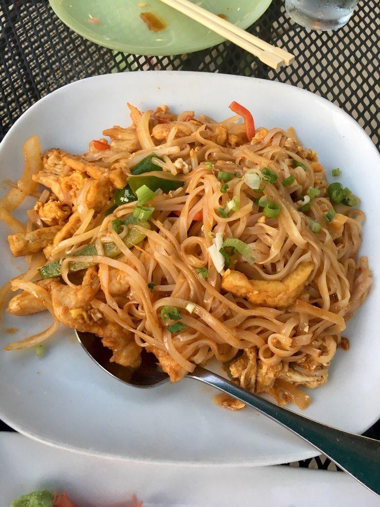 Food from Jasmine Asian Bistro