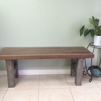 Elegant Photo Of Rustic Blueprint   Tampa, FL, United States. A Custom Bench By