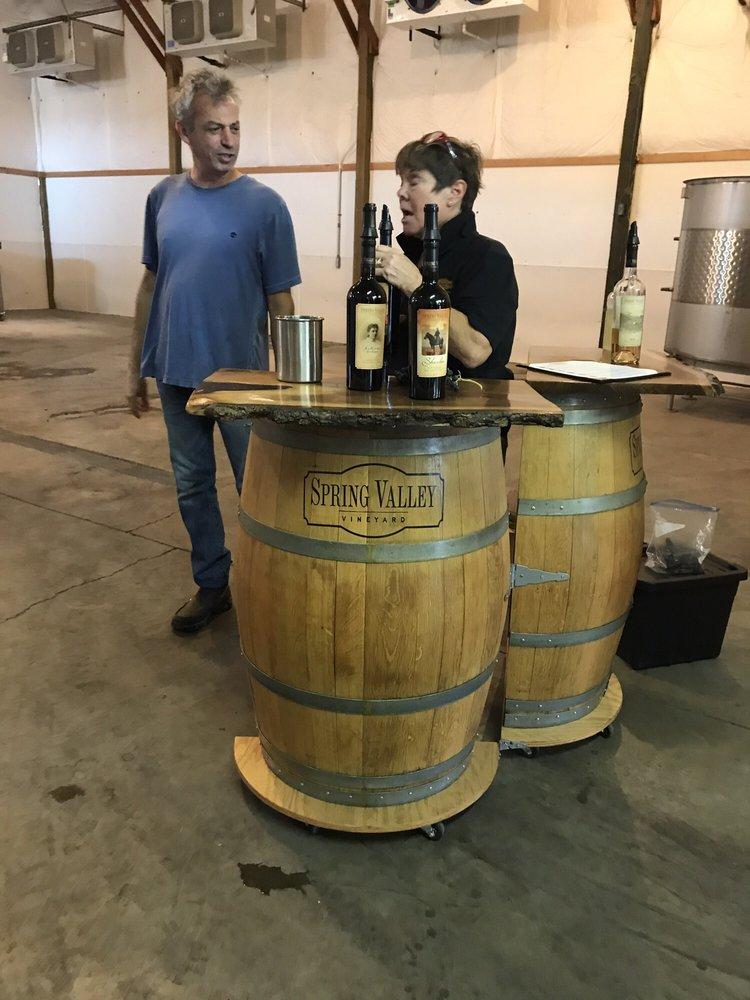 Social Spots from Spring Valley Vineyard Tasting Room