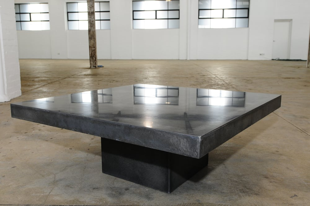 Polished Concrete Coffee Table Order Any Size At Blacksmith Street Gallery Yelp