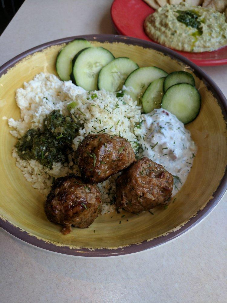 Zo S Kitchen Protein Power Plate protein power plate (around $8.50) at zoe's kitchen in oak lawn