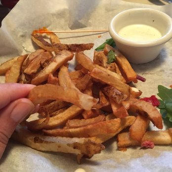 Photo Of Flipu0027s Patio Grill   Grapevine, TX, United States. Undercooked  Fries,