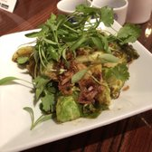 Photo of Lan Ramen-Ya - Coral Gables, FL, United States. Hot Brussel Sprouts