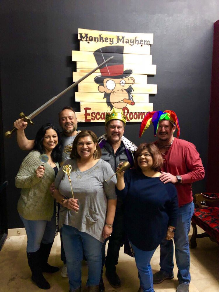 Monkey Mayhem Escape Rooms