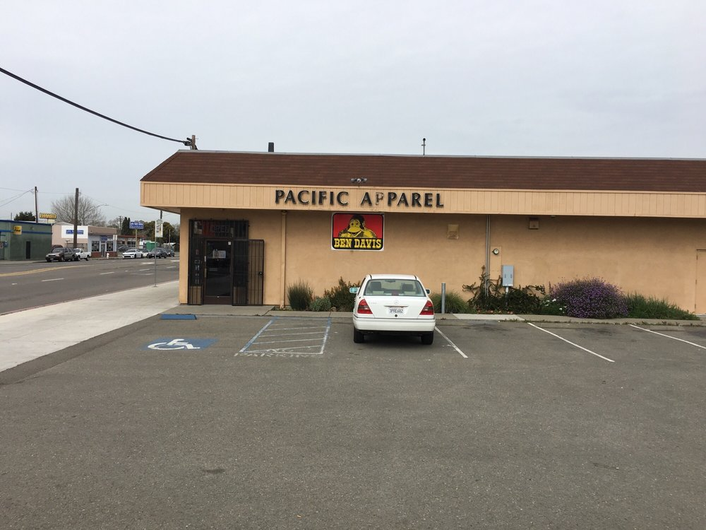 Pacific Apparel: 16276 E 14th St, San Leandro, CA
