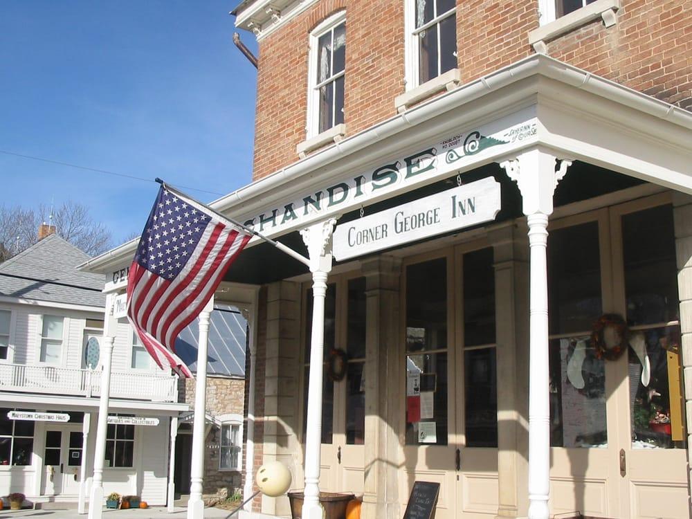 Corner George Inn: 1101 Main St, Maeystown, IL