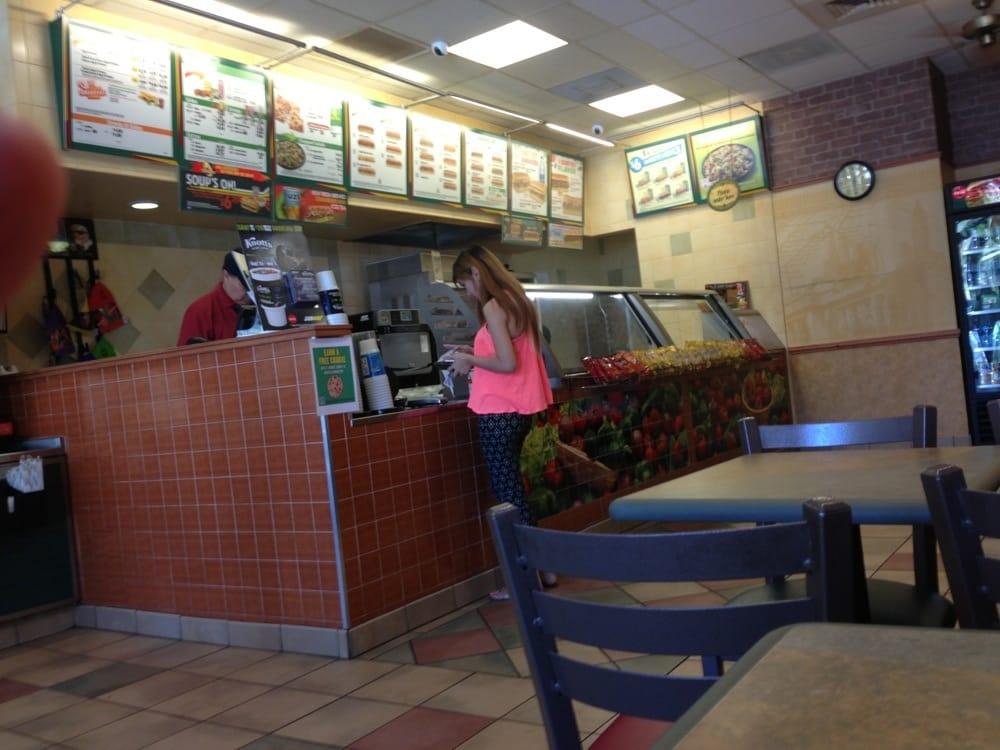Subway Restaurants Simi Valley Ca