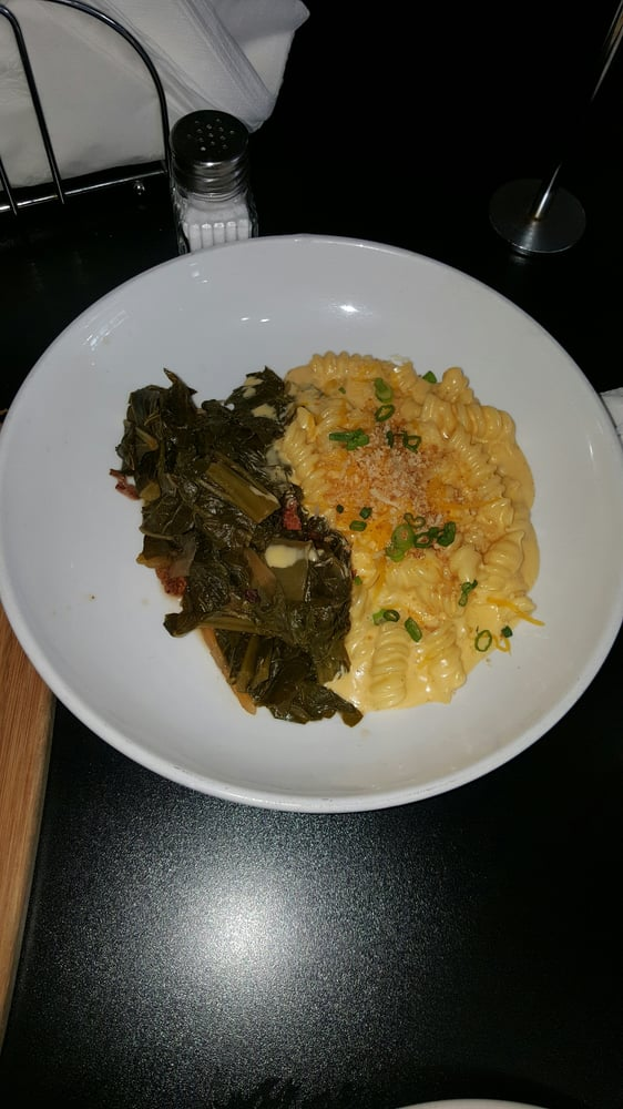 Collard greens and mac n cheese yelp for Kitchen 713 reservations