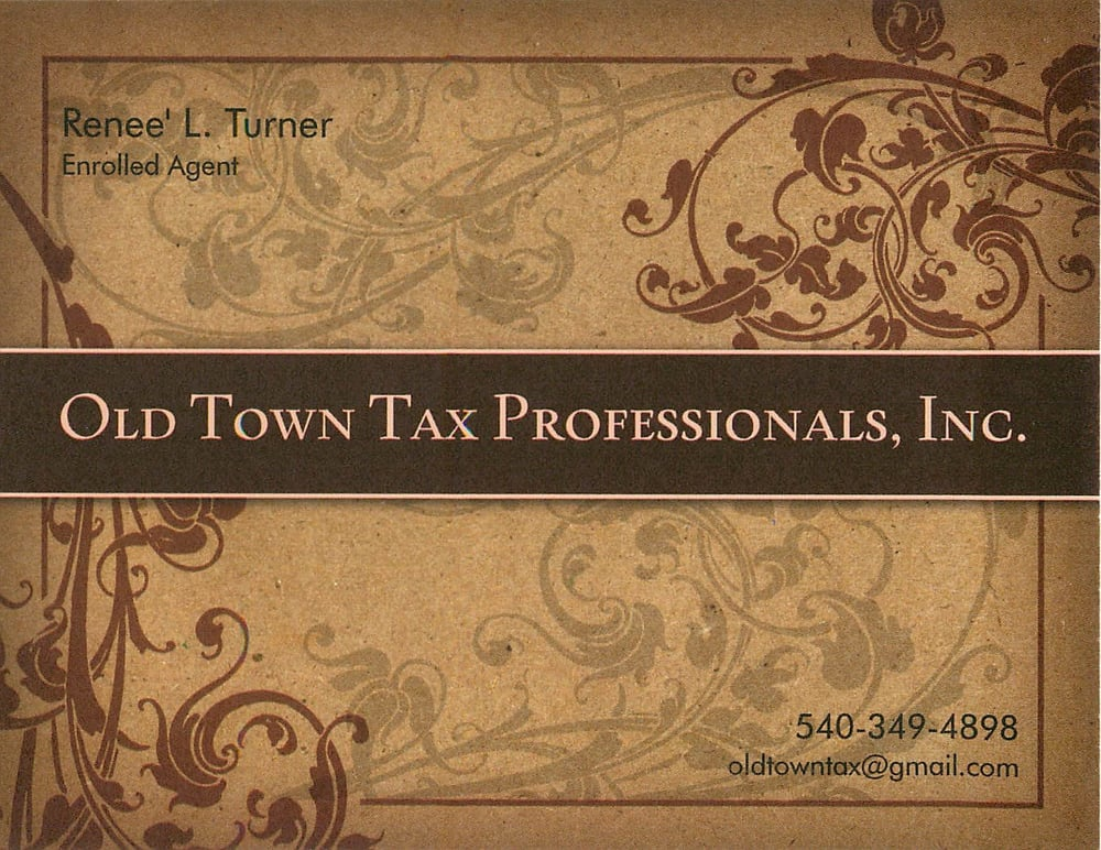 Old Town Tax Professionals, Inc.: 9 N 3rd St, Warrenton, VA