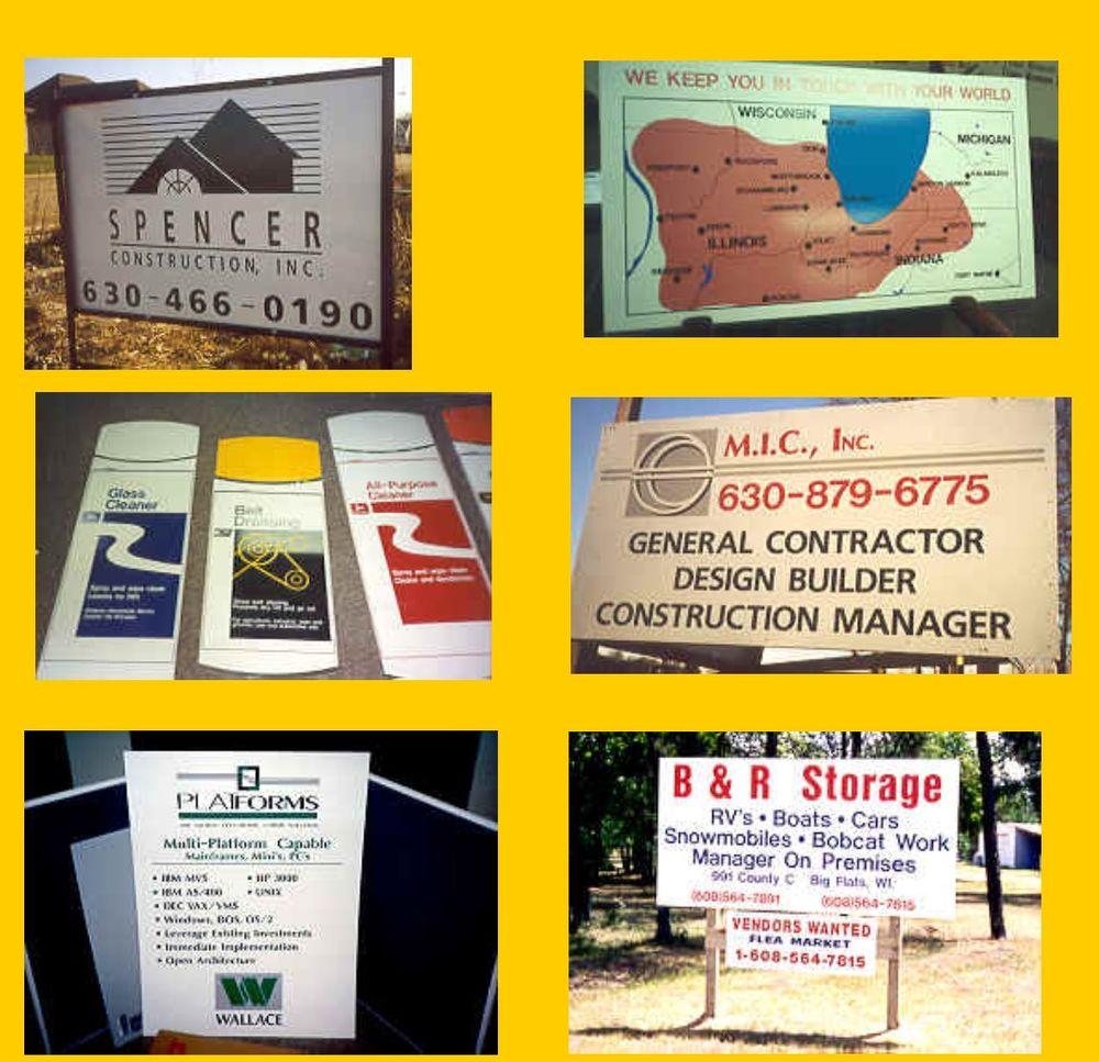 Sign Tech: 643 McKinley Ave, Geneva, IL
