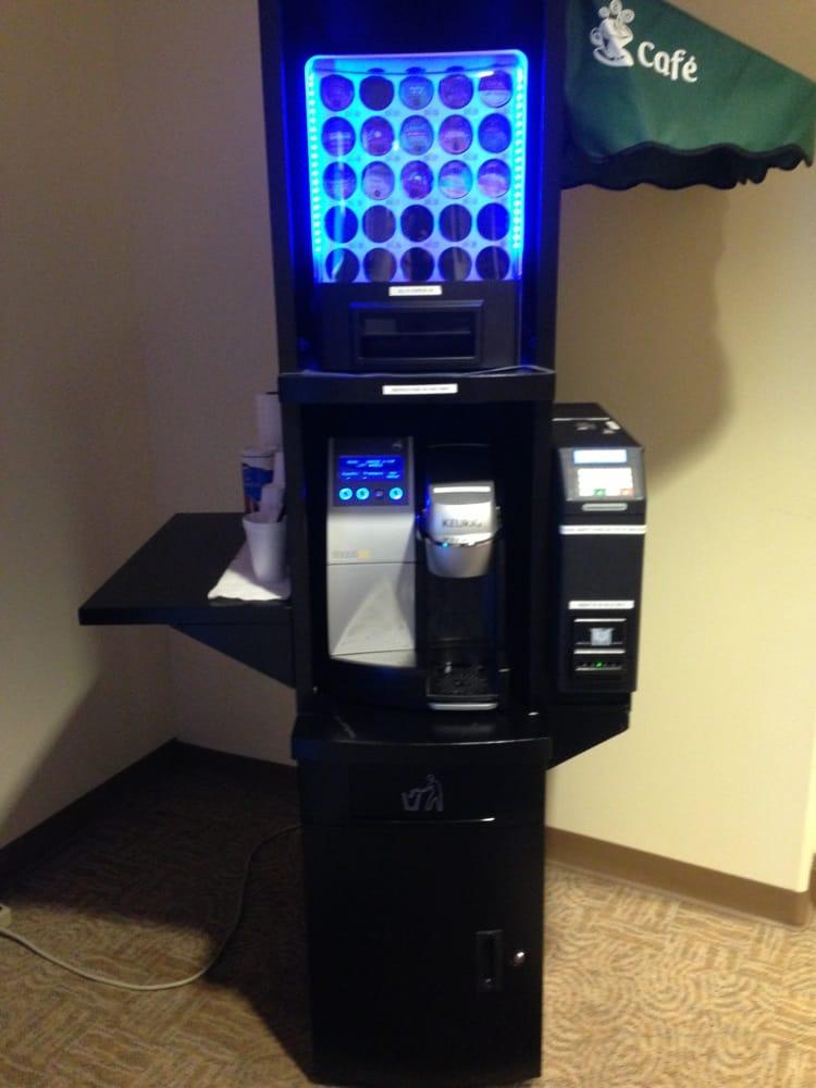 Vending Machines Near Me >> Keurig vending machine | Yelp