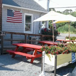 Photo Of Boom Burger   Westhampton Beach, NY, United States. Some Outdoor  Seating