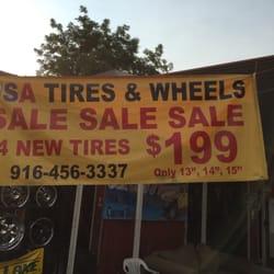 Usa Tires Wheels 12 Photos Tires 4600 Stockton Blvd