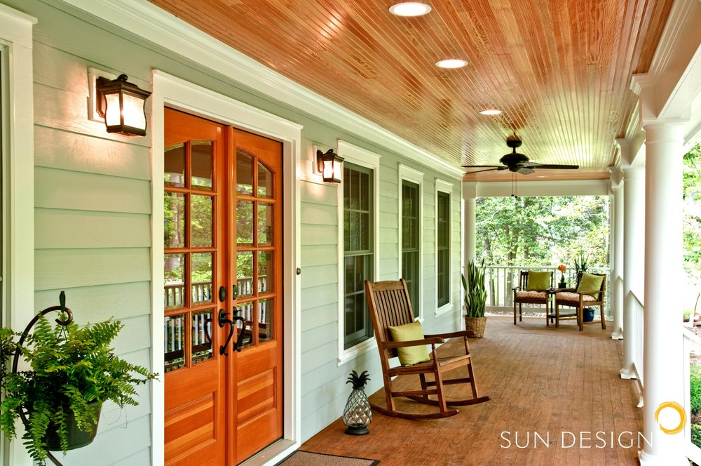 Foyer Renovation Ideas : Split foyer home transformed into a colonial with this beautiful