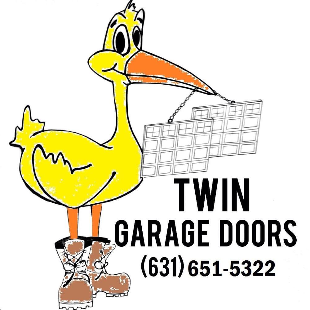 Twin Garage Doors: 698 Fort Salonga Rd, Northport, NY