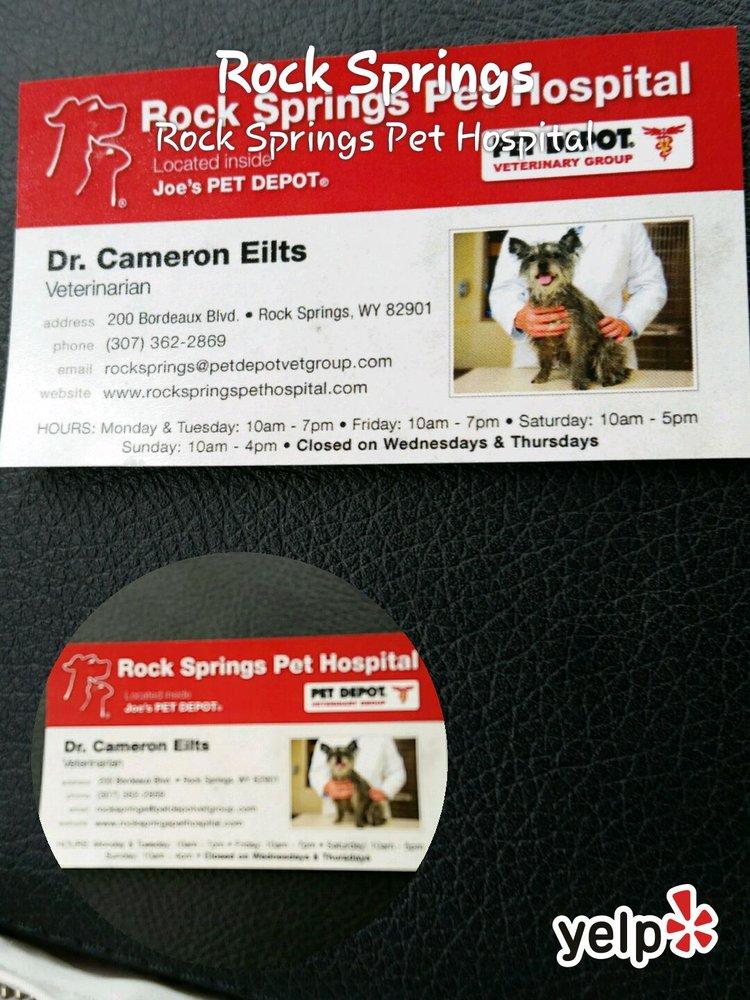 Rock Springs Pet Hospital: 200 Bordeaux Blvd, Rock Springs, WY