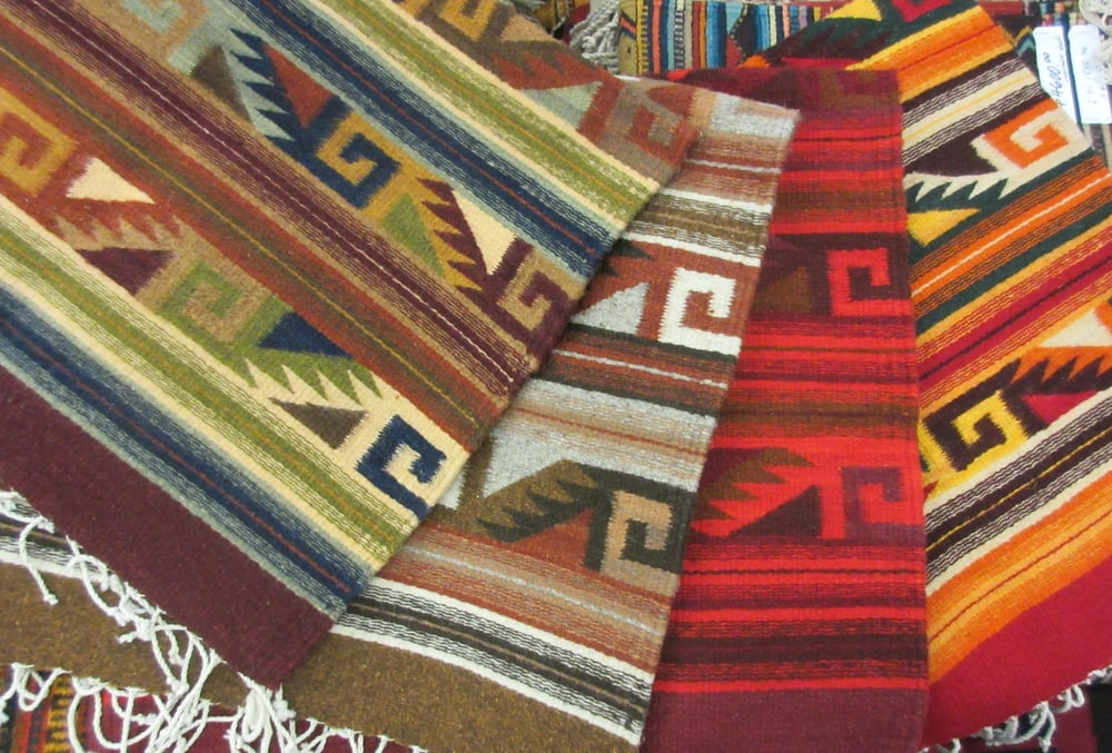 Zapotec Rugs By The Indigenous Weavers Of Teotitl 225 N Del