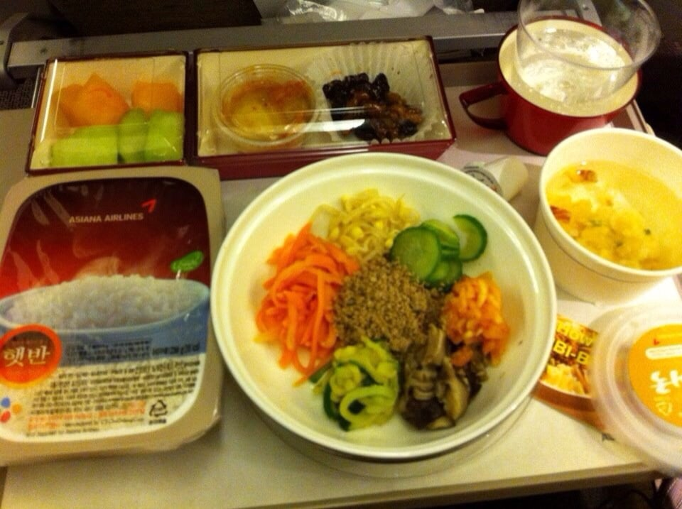 Asiana Airlines Economy Food Review