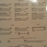 Village Tavern And Trattoria Menu