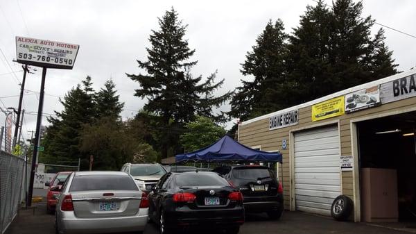 Alexia auto motors closed garages 11605 se powell for Electric motor repair portland oregon