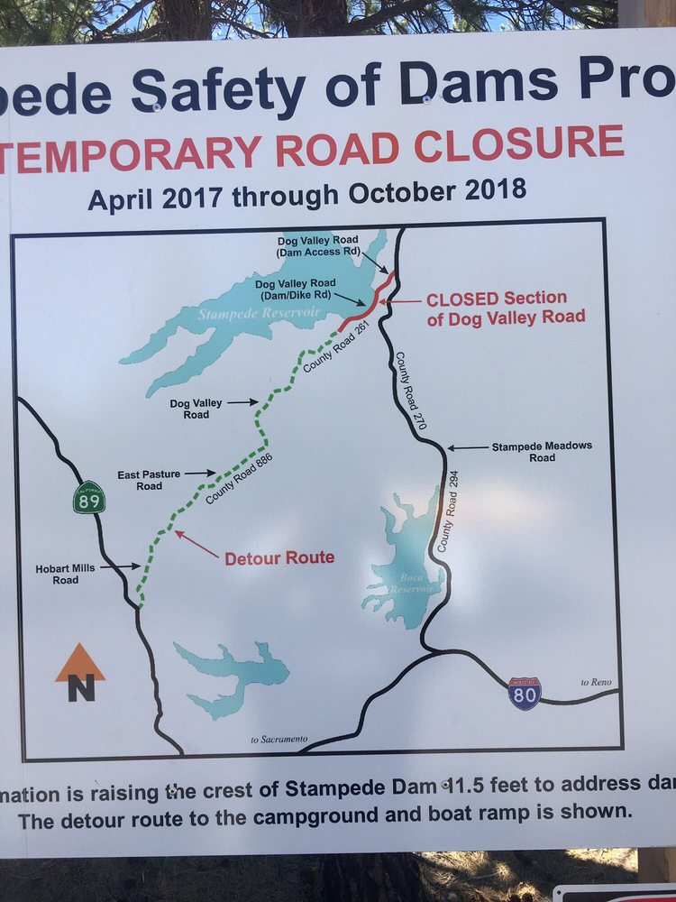 Note road closure, and save lots of time and frustration  Still