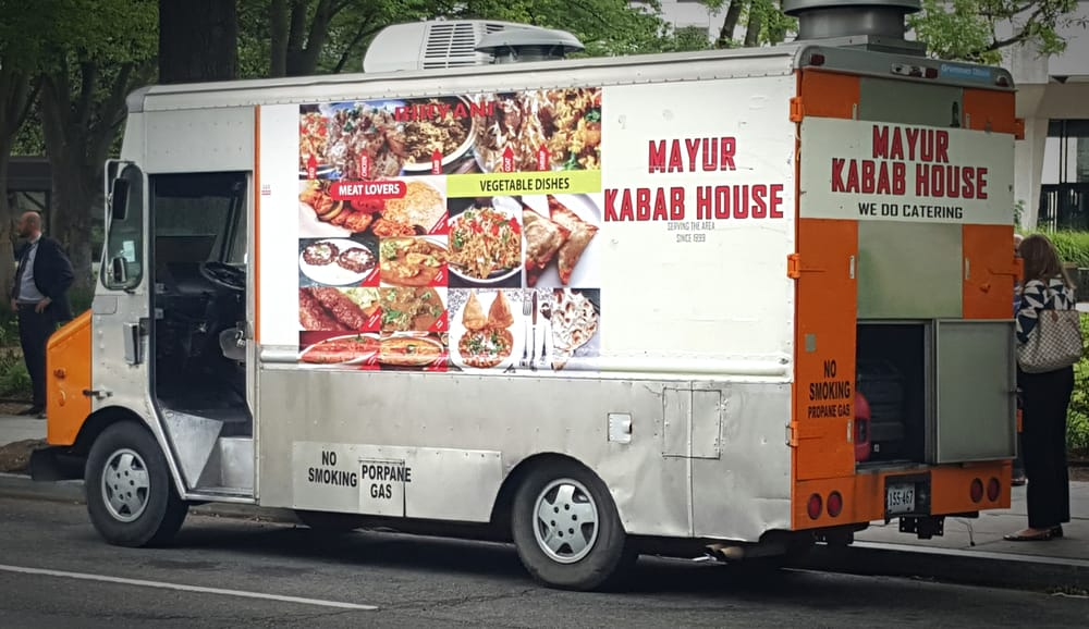 Mobile Mayur Kabob House: Washington, DC, DC