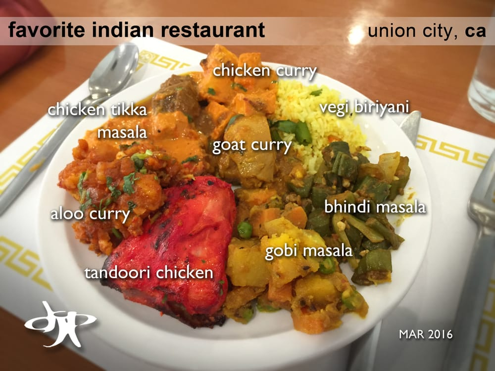Indian Restaurant Union City Menu