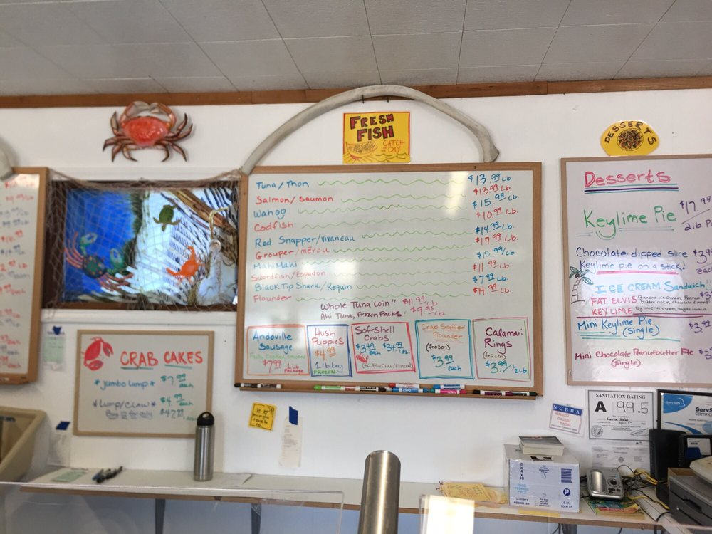 Sunrise Seafood Market: 40658 Highway 12, Avon, NC