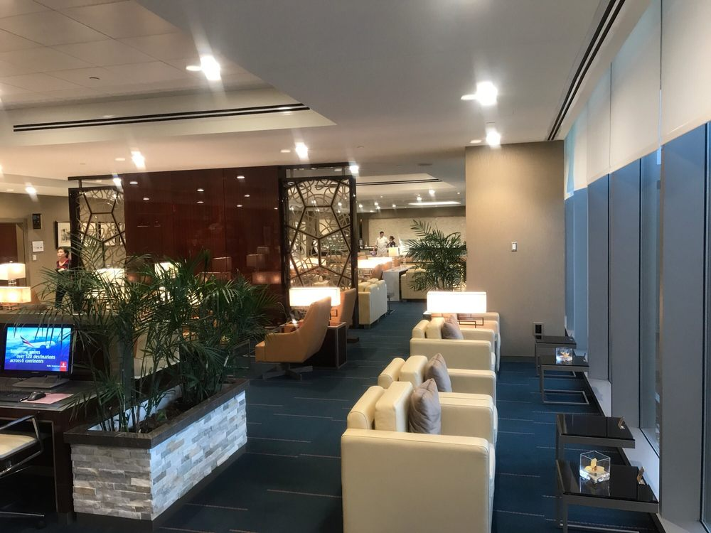 Emirates Lounge: Terminal E, Boston, MA