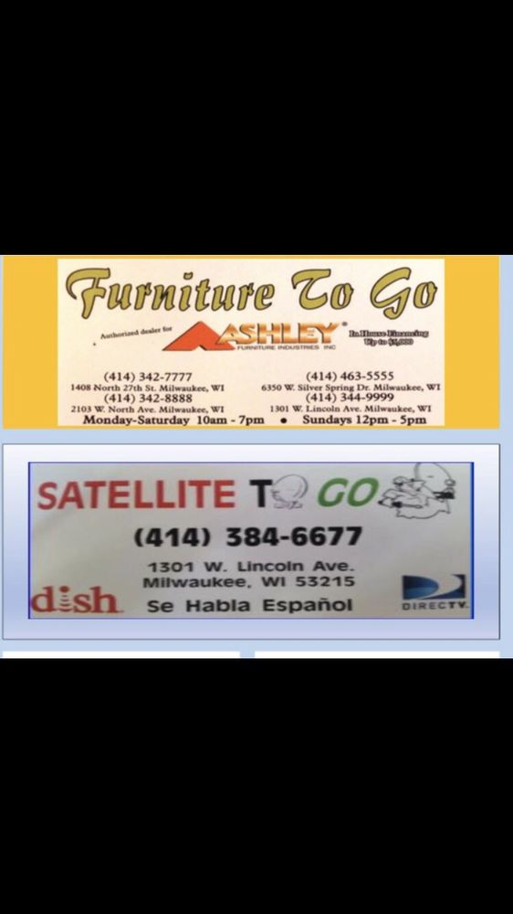 Furniture To Go   Furniture Stores   1301 W Lincoln Ave, Lincoln Village,  Milwaukee, WI   Phone Number   Yelp
