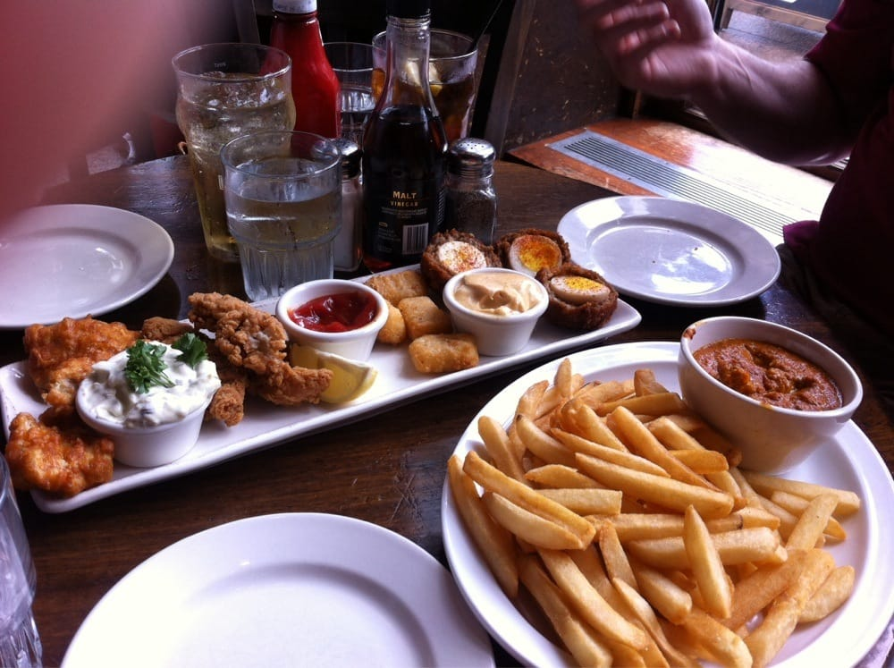 A la mode frangourou: Food in UK, 1: Traditional pub lunch ...