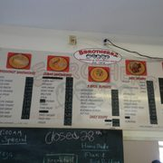 Menu P O Of Five Brothers Grocery Two Summerland Key Fl United States