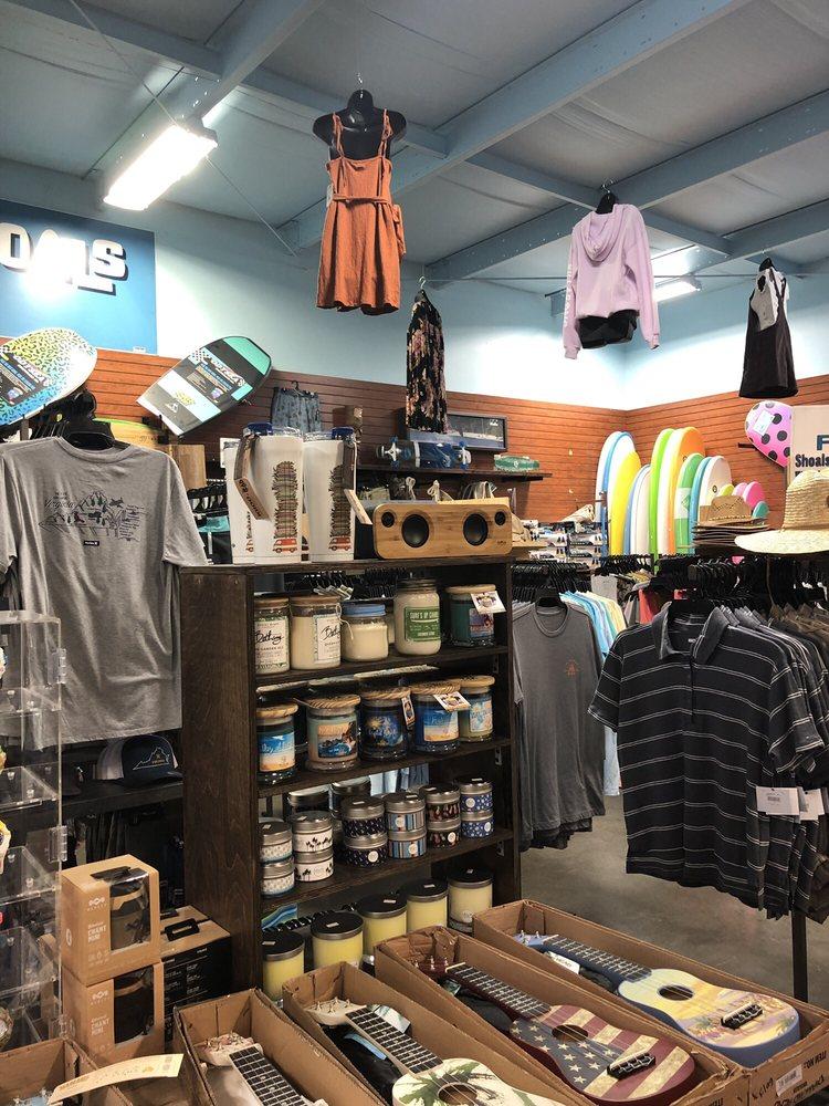 Atlantic Shoals Surf Shop: 6758 Maddox Blvd, Chincoteague Island, VA