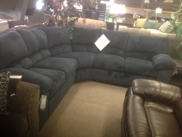 Dailey Midnight Blue Sectional Sofa - Yelp
