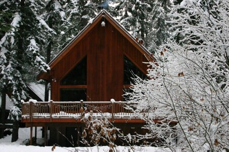 Silver Brook Cabin: Easton, WA
