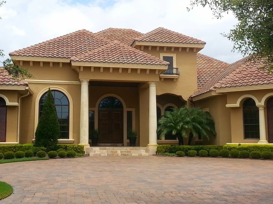 Tile roofing orlando yelp for Barrel tile roof colors