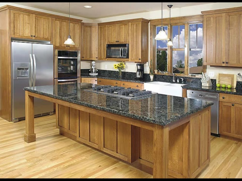 Sometimes all you need is one picture to sum up that new you, or in this case, the new facelift for your kitchen. New .