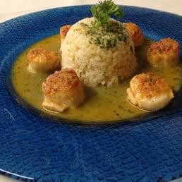 Giulio's Restaurant - Tappan, NY, United States. Scallops Oreganata