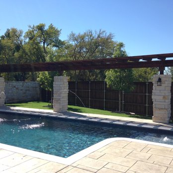 Photo Of Venture Custom Pools Plano Tx United States Family Pool And