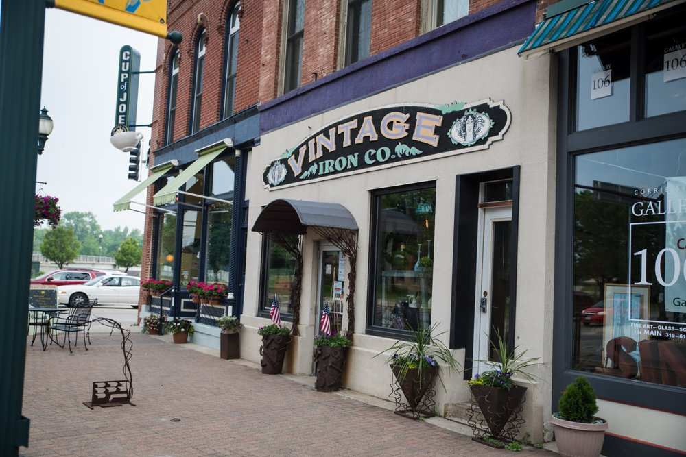 Vintage Iron: 104 Main St, Cedar Falls, IA