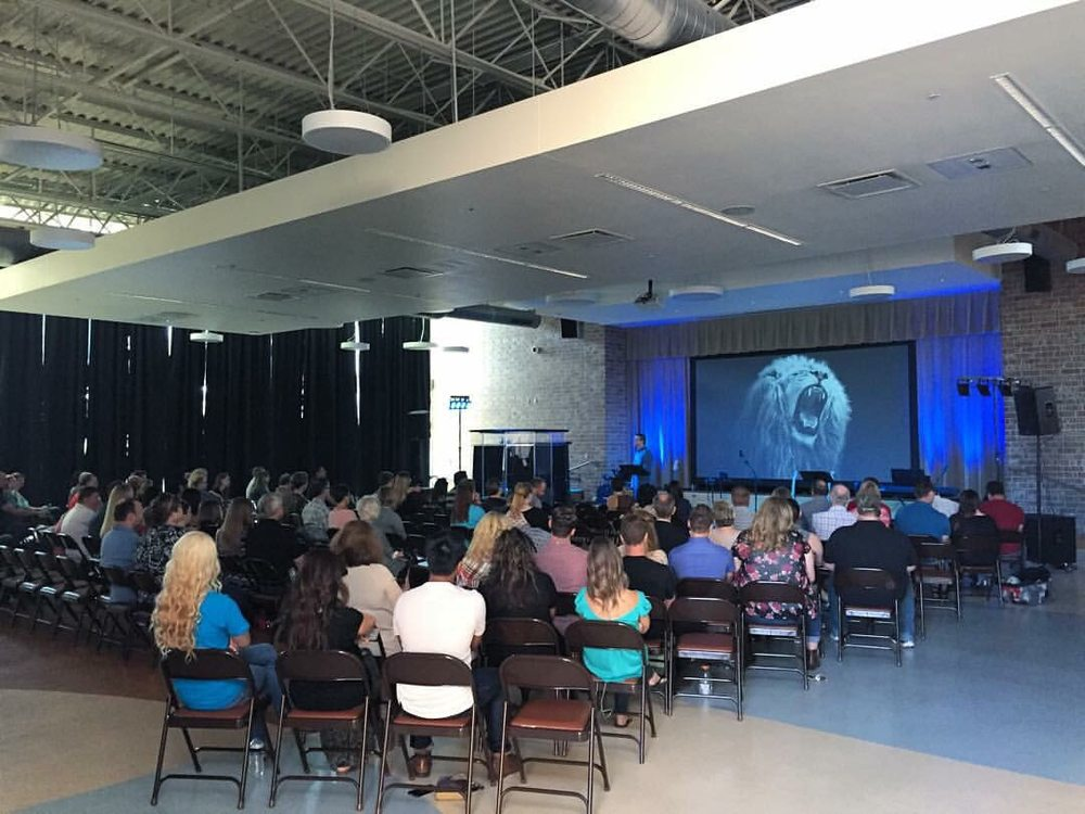 Trilogy Community Church: 600 Liberty Blvd, Cross Roads, TX