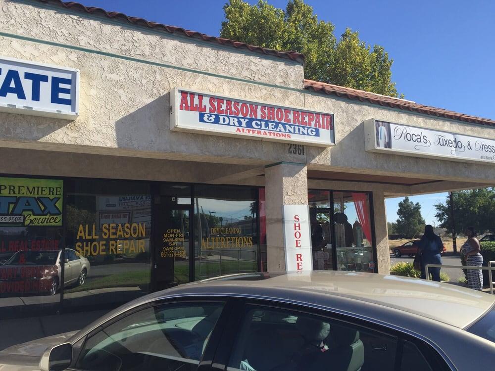 All Seasons Shoe Repair & Alterations: 2361 E Palmdale Blvd, Palmdale, CA
