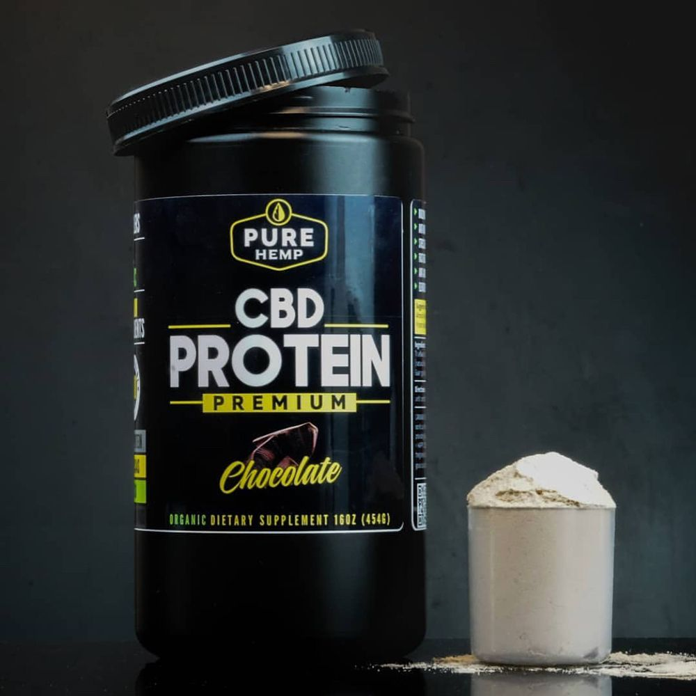 Image result for pure hemp cbd protein