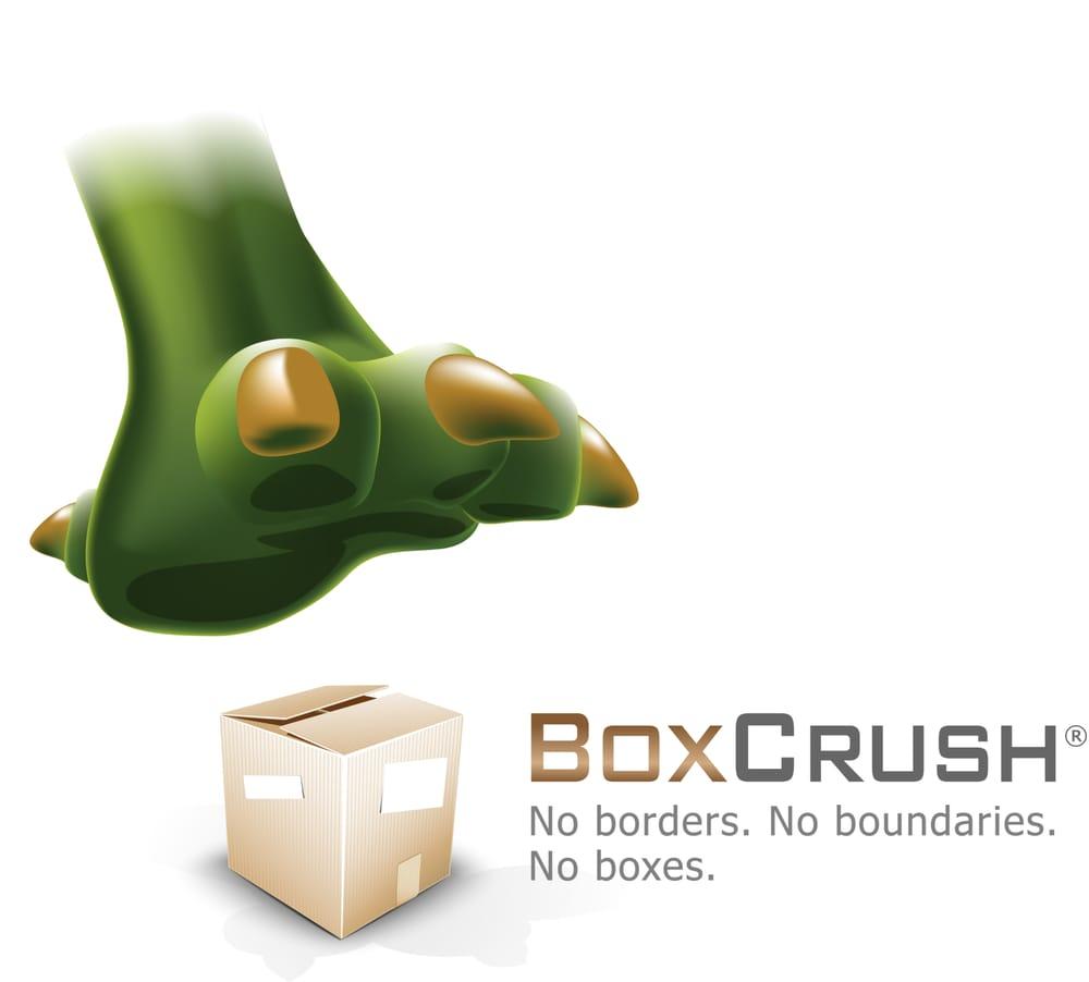 BoxCrush Web Design