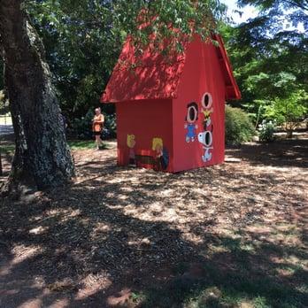 Photo Of Botanical Garden   Huntsville, AL, United States. Snoopyu0027s  Doghouse   Part
